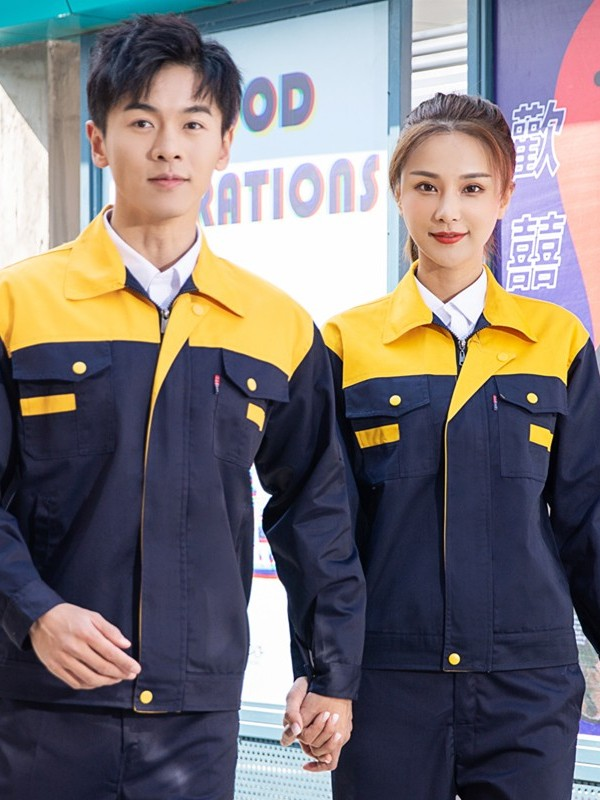黄色车间工作服