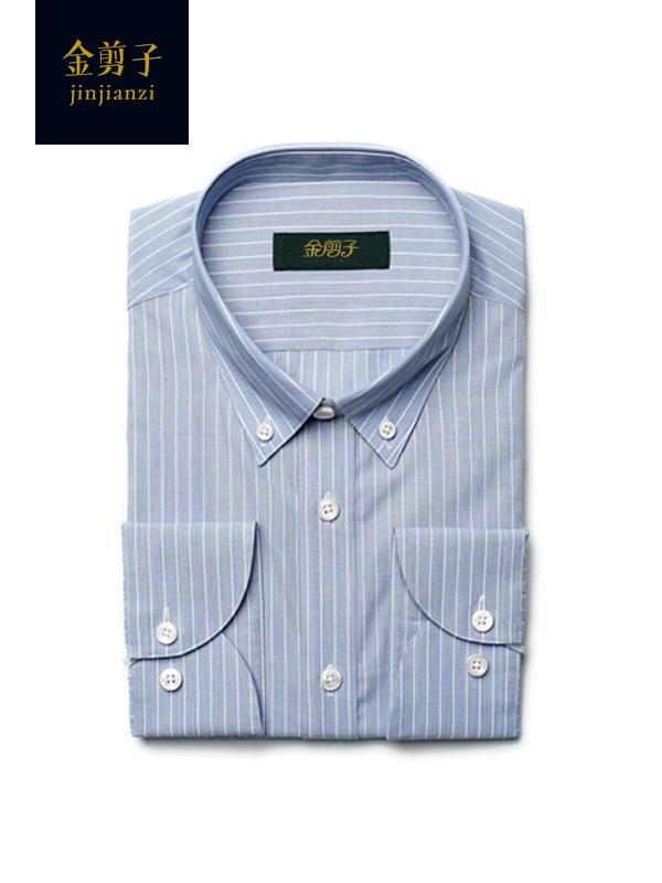 男士商务条纹衬衫