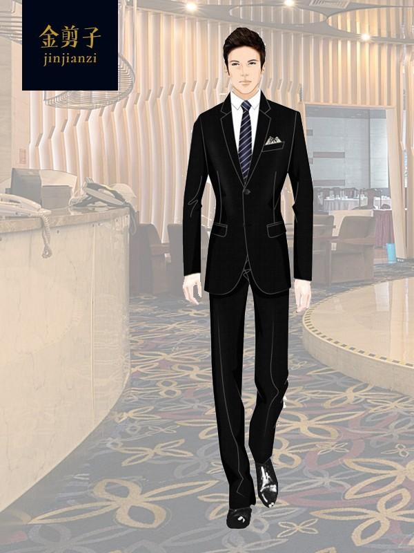 酒店主管工作服