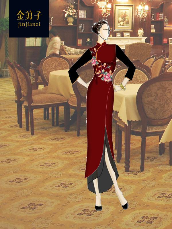 中式酒店服装定制