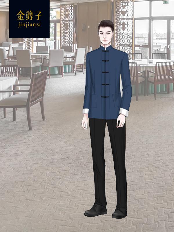 酒店中餐厅工作服定制