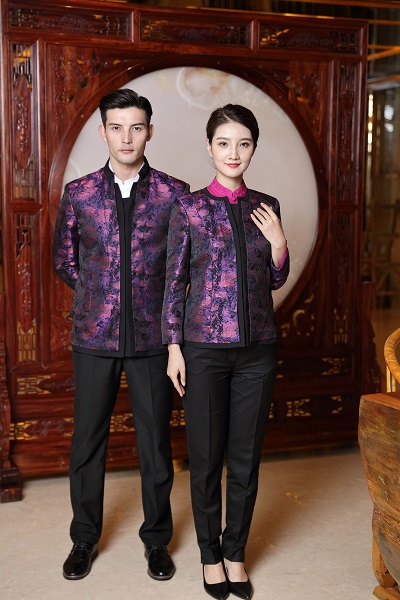 冬季酒店服务员工服款式你喜欢那种呢?