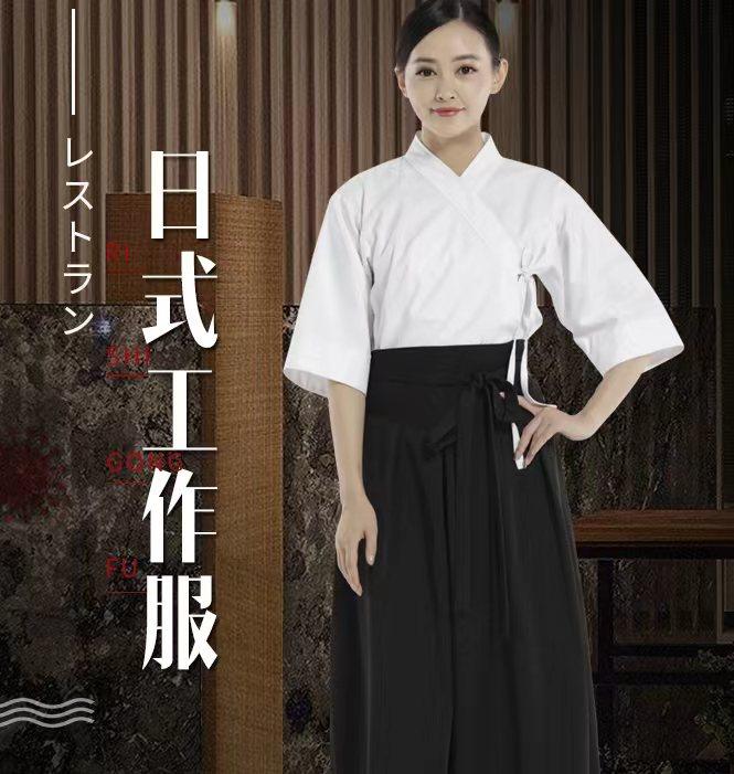 日式餐厅服装,酒店工服定做