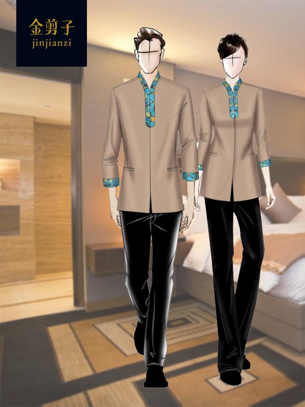 酒店客房保洁服