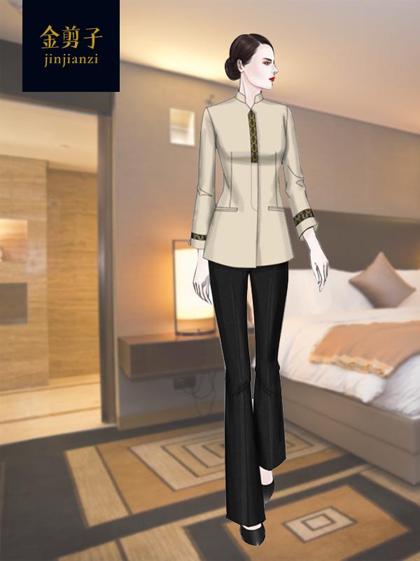 酒店保洁工作服