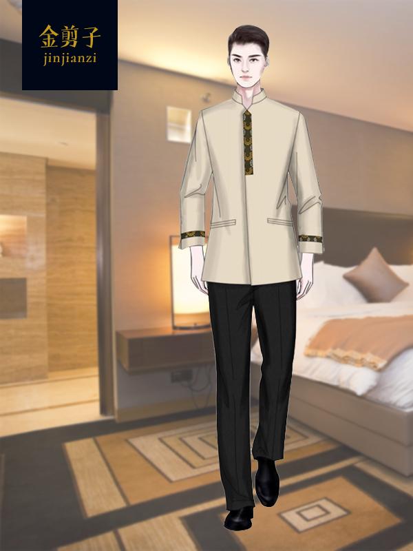 酒店客房保洁工作服