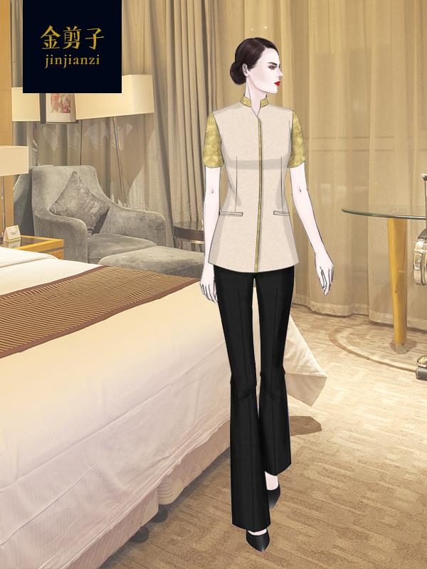 酒店保洁服